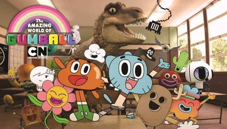 Kreskówka Niesamowity świat Gumballa