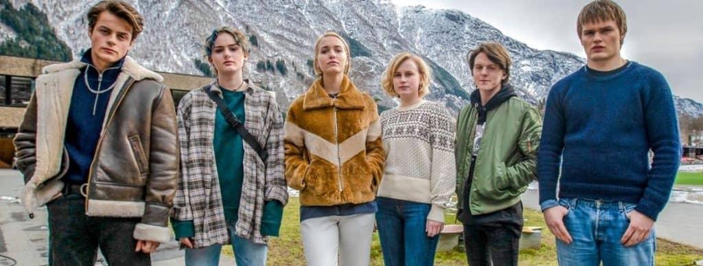 Grupa nastolatków z serialu Ragnarok - recenzja Ragnarok