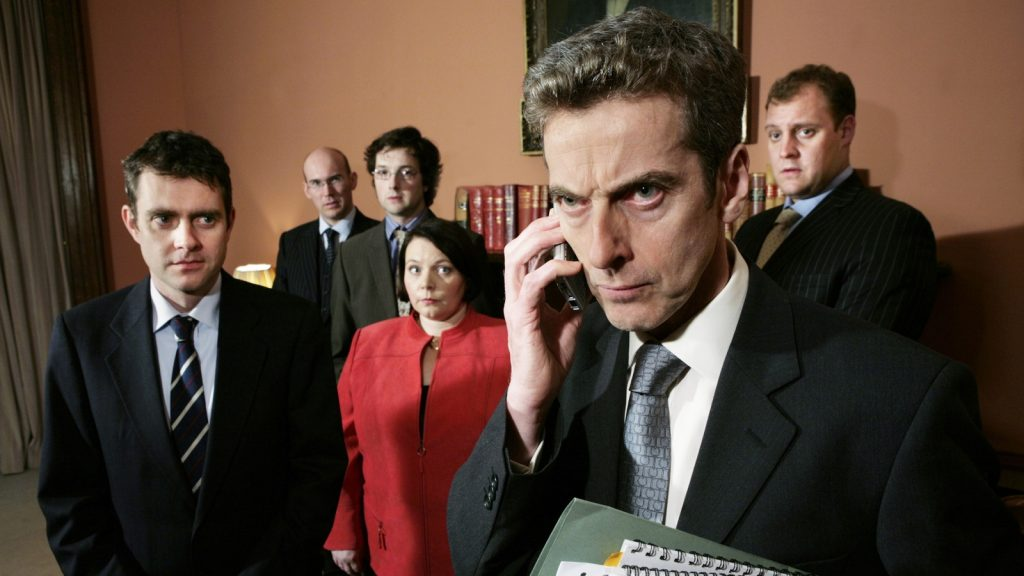 the thick of it - seriale polityczne